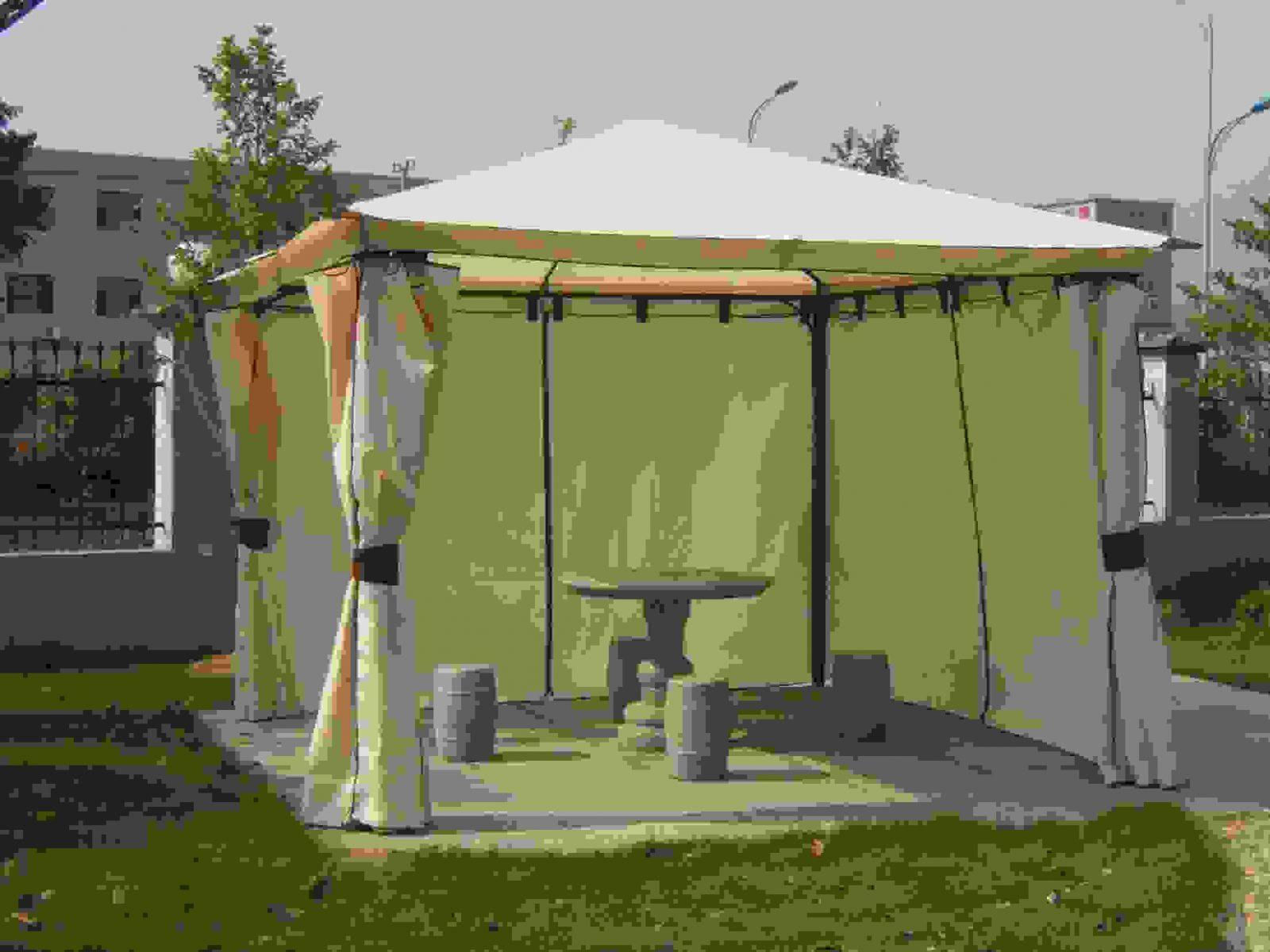 Groß Mobel Sätze Plus Gartenpavillon Pavillon Metall Von Pavillon von Pavillon 3X4 Wasserdicht Stabil Bild