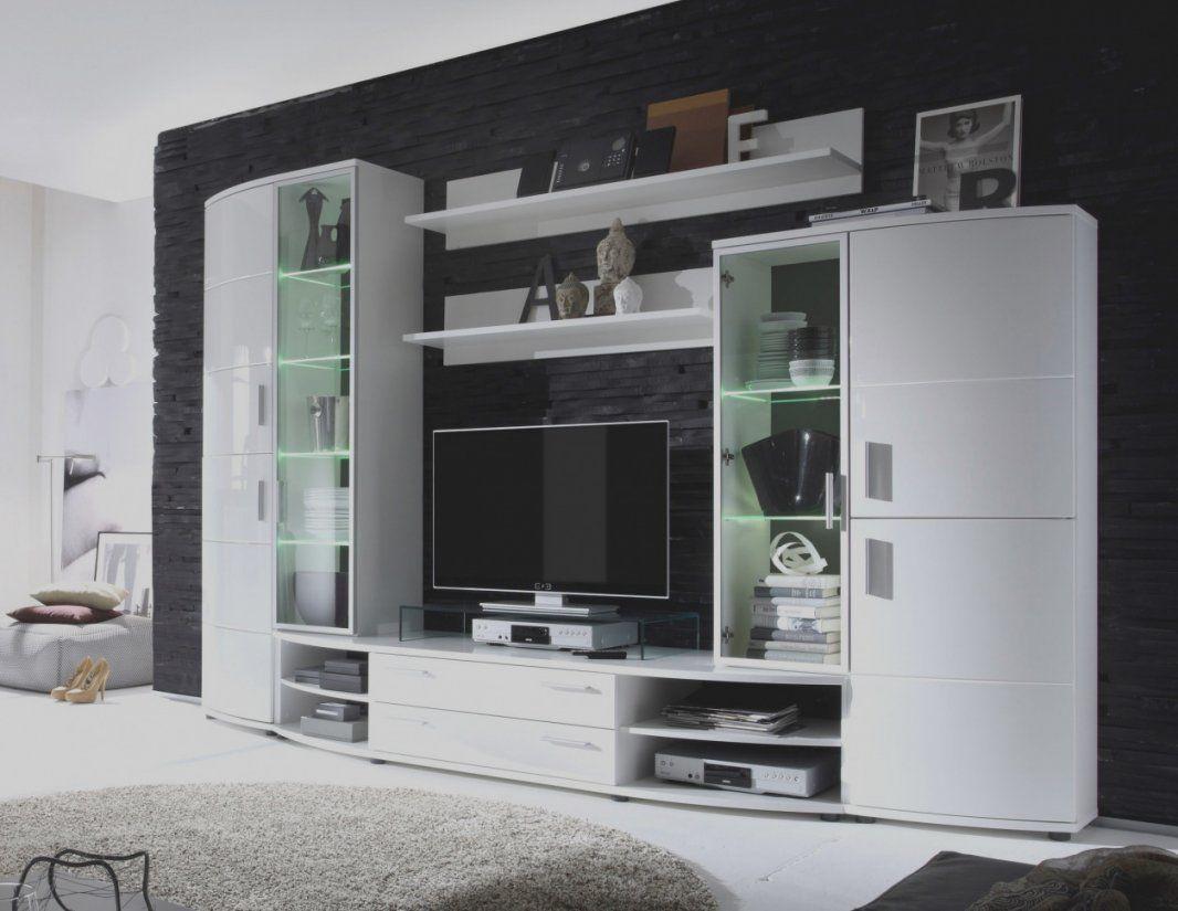 Groß Von Weis Hochglanz Wohnwand Weiss Woody 16 00428 Möbel  Flinthouse von Wohnwand Woody Weiß Hochglanz Bild