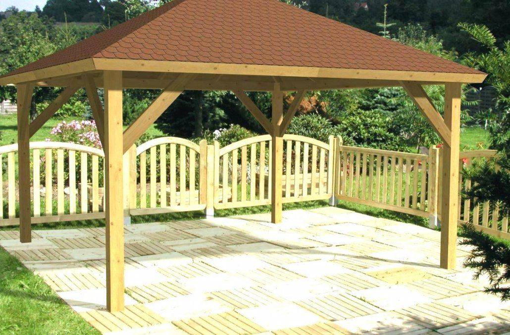 Großartig Garten Kunst Ideen Zum Frisch 40 Gartenpavillon Holz von Gartenpavillon Aus Holz Selber Bauen Photo