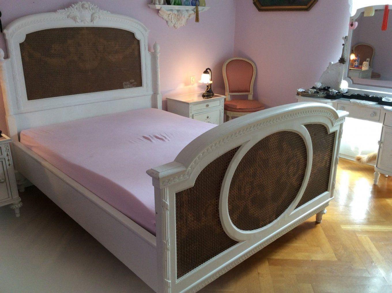 Gründerzeit Bett Holz Um1900 Shabby Chic Weiß Mit Lattenrost In von Bett Shabby Chic Weiß Photo