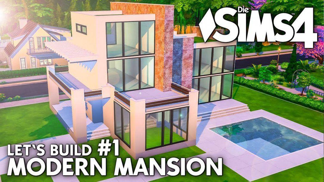 Grundriss  Die Sims 4 Haus Bauen  Modern Mansion 1 (Deutsch von Sims 4 Haus Bauen Photo