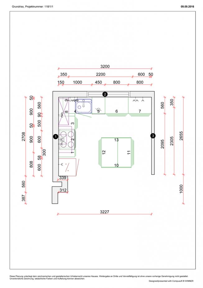 Grundriss11801768 von Grundriss Küche Mit Kochinsel Photo