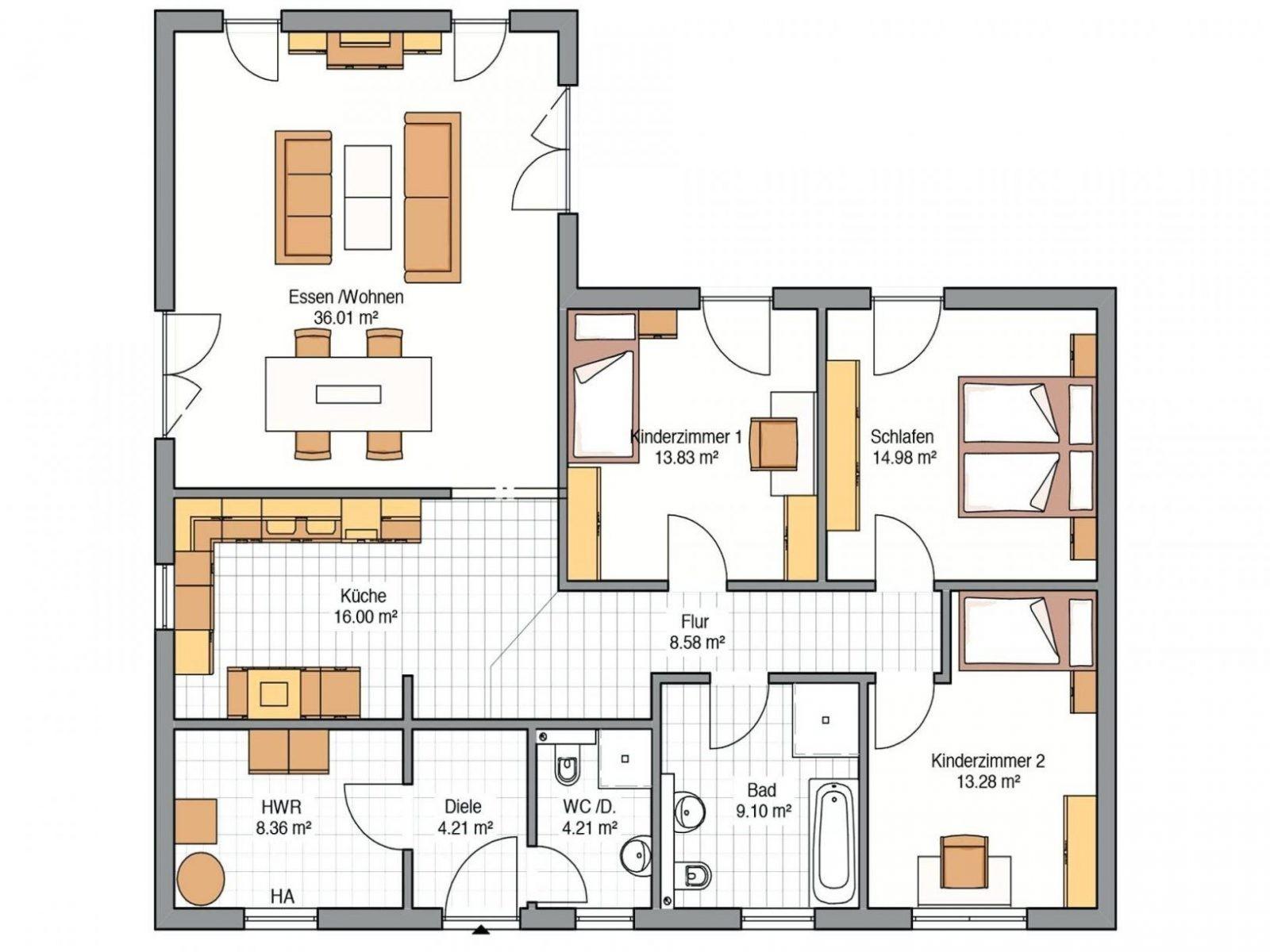 grundrisse bungalow grundriss bungalow 129 grundriss bungalow 4 avec von bungalow grundriss 5. Black Bedroom Furniture Sets. Home Design Ideas