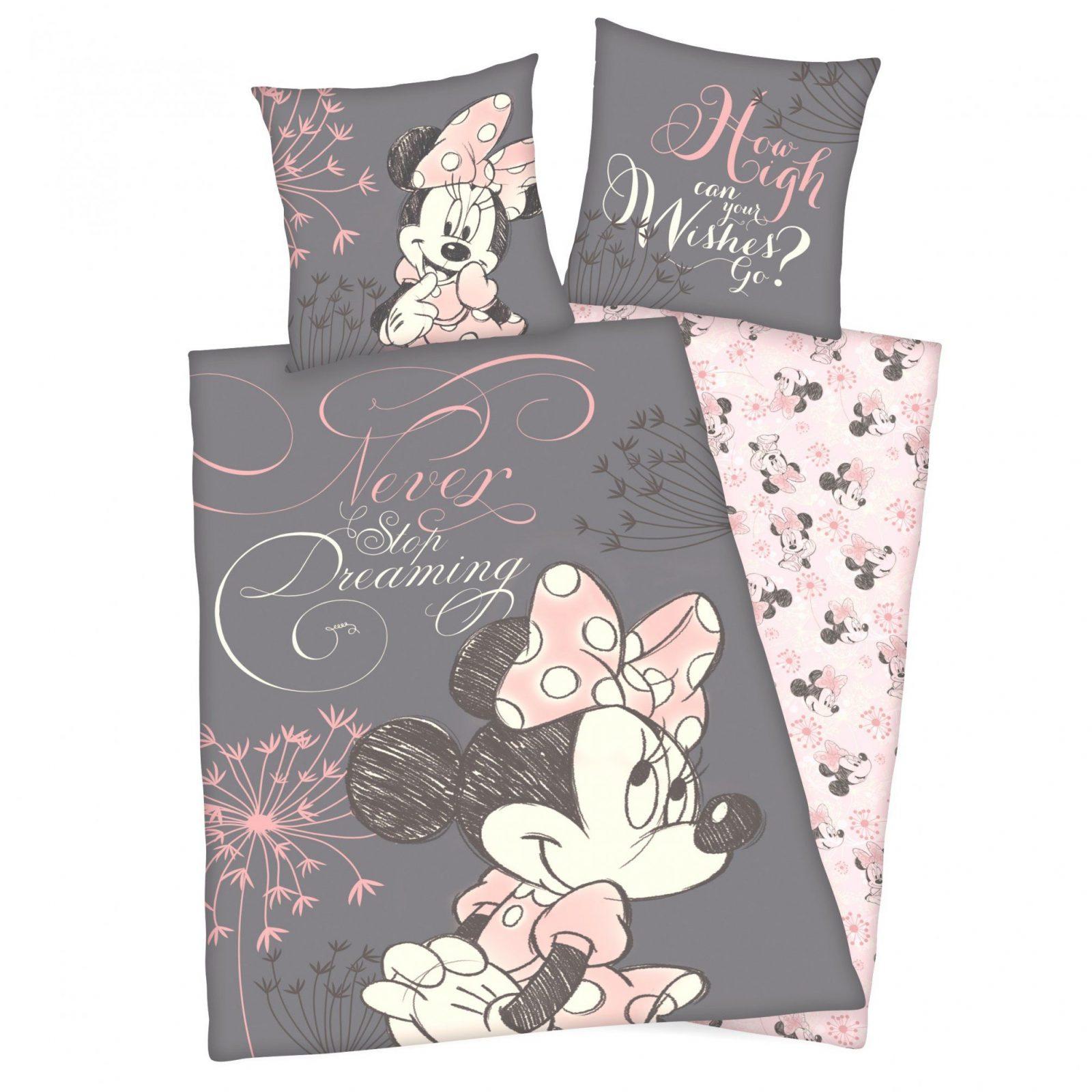 Günstige Ideen Minnie Mouse Bettwäsche Und Geniale Trend Textilien von Mini Mouse Bettwäsche Bild