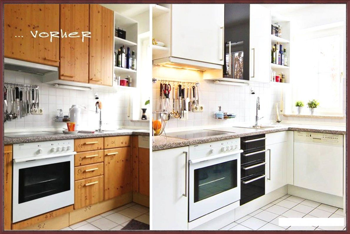 Günstige Inspiration Küche Eiche Rustikal Weiß Streichen Und Schöne von Küche Eiche Rustikal Aufpeppen Photo