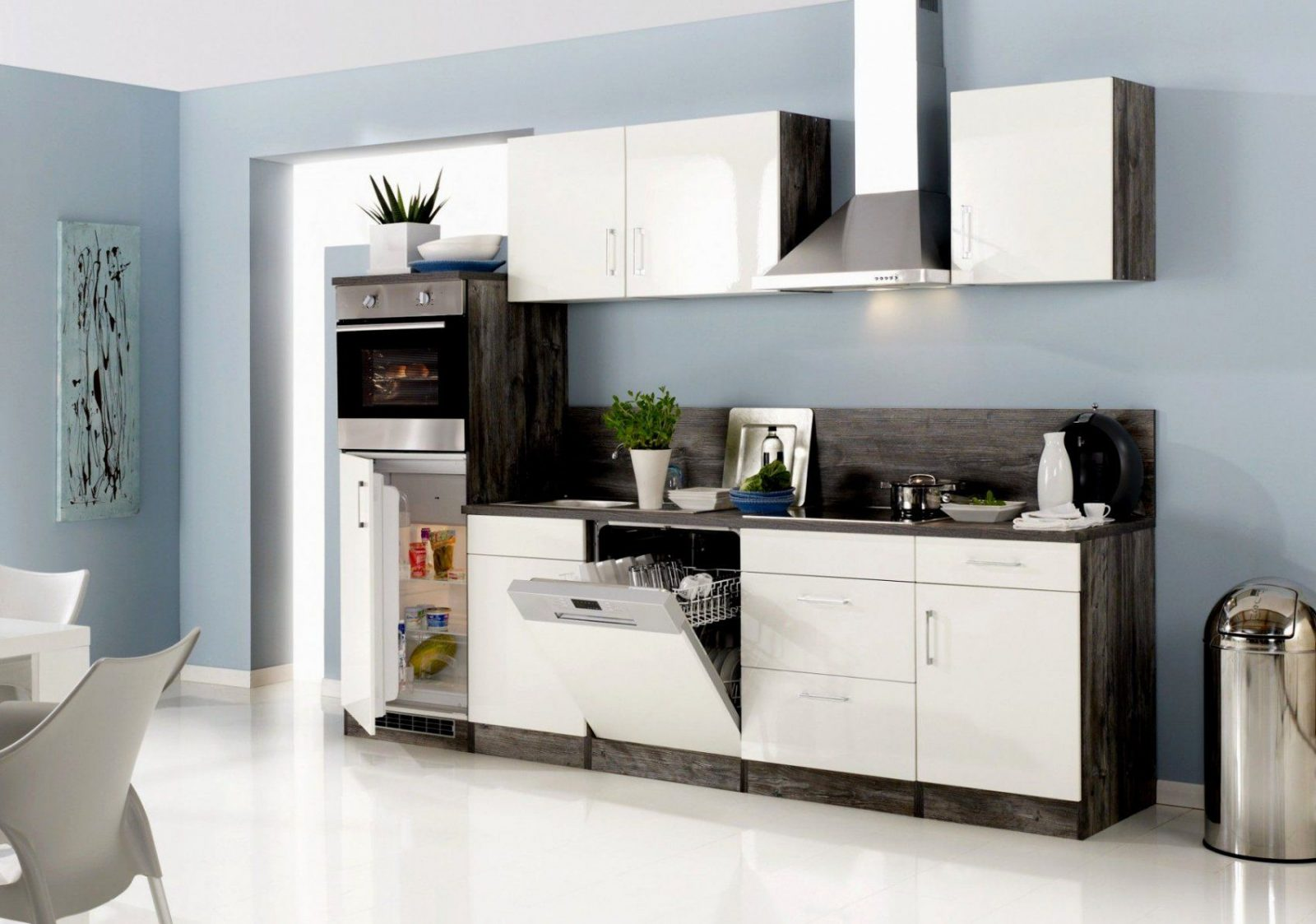 k chenblock mit e ger ten g nstig haus design ideen. Black Bedroom Furniture Sets. Home Design Ideas