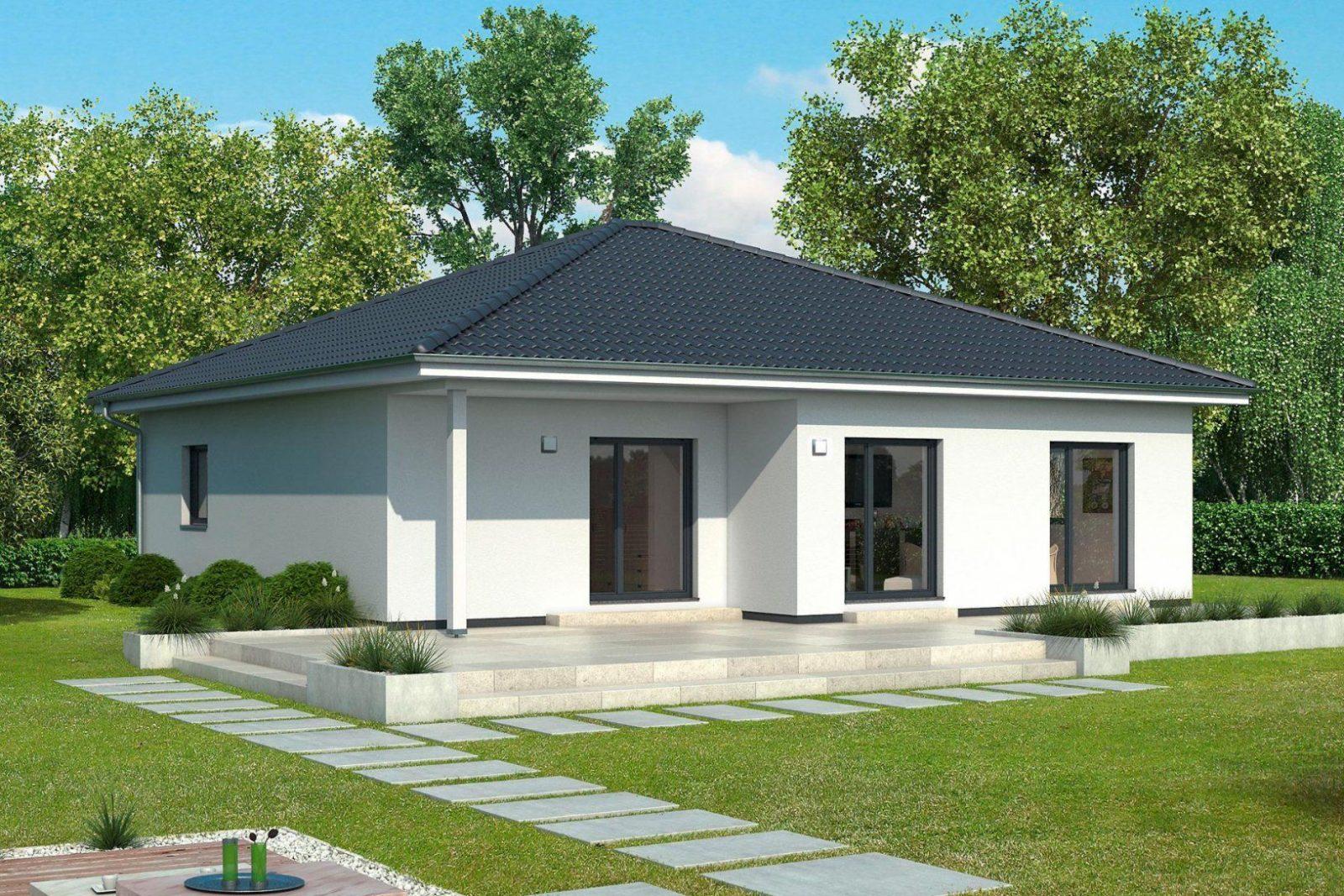 Gussek Haus  Bungalows Landhäuser  Fertighäuser Funktional von Kleines Fertighaus Für 2 Personen Bild