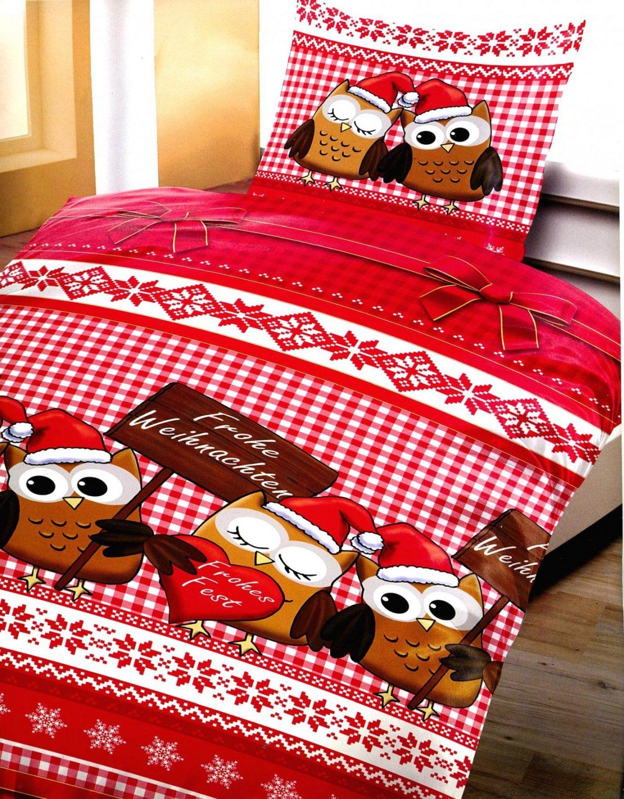 Gute Inspiration Bettwäsche Mit Weihnachtsmotiv Und Wunderschöne 3 von Bettwäsche Mit Weihnachtsmotiv Bild