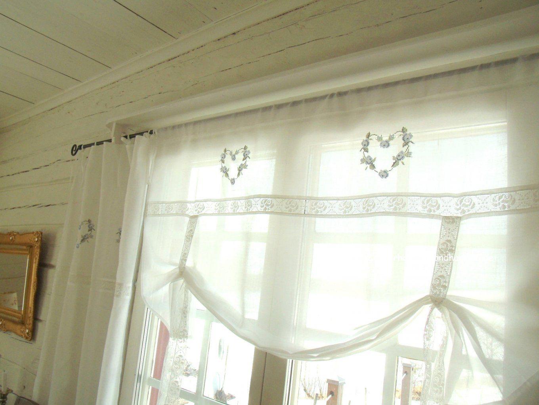Gute Inspiration Landhausgardine Küche Und Wunderschöne Schönes von Französischer Landhausstil Gardinen Photo