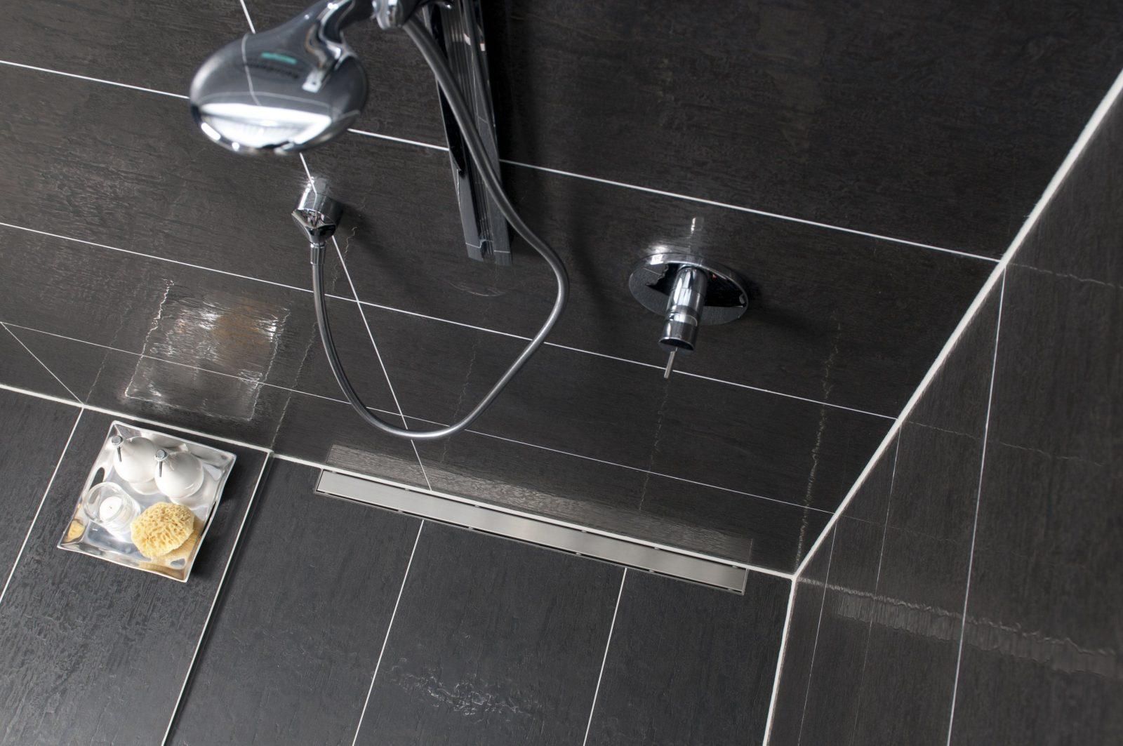 Gutjahr  Bodengleiche Dusche Schon Ab 28 Mm Aufbauhöhe Gutjahr von Ablauf Für Bodengleiche Dusche Bild