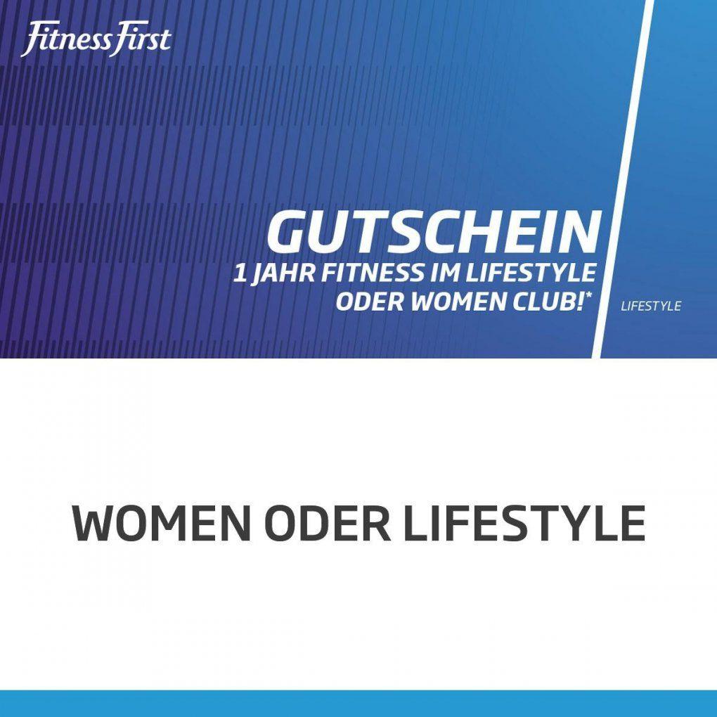 Gutschein Für 1 Jahr Women Oder Lifestyle  Newmoove Shop von Fitness First Regensburg Pfaffenstein Bild