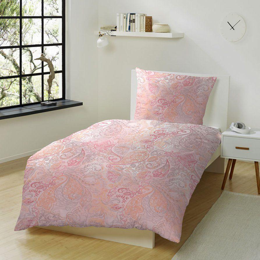 Hahn Edelflanell Bettwäsche Ornamente Pink Günstig Online Kaufen Bei von Bettwäsche Flanell Biber Unterschied Bild