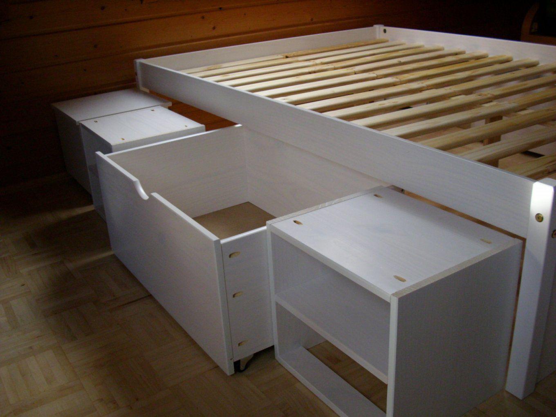 Halbhohes Bett 140X200 Selber Bauen Bettgestell Paletten X Machen von Stauraumbett 140X200 Selber Bauen Bild