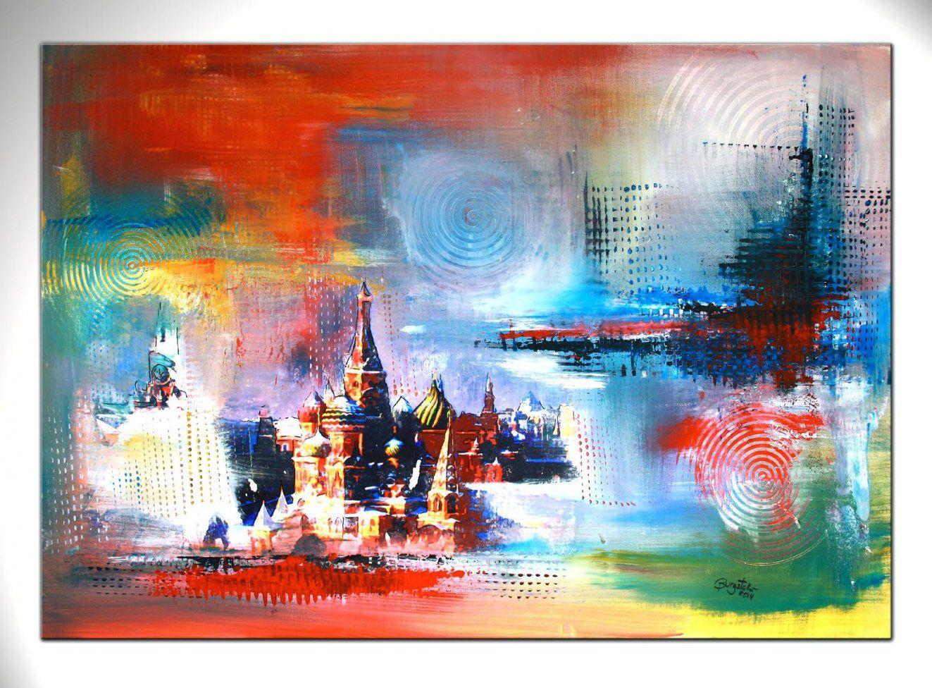 Handgemalte Bilder Auf Leinwand Abstrakt Amazing Figrlich Landschaft von Handgemalte Bilder Auf Leinwand Abstrakt Bild