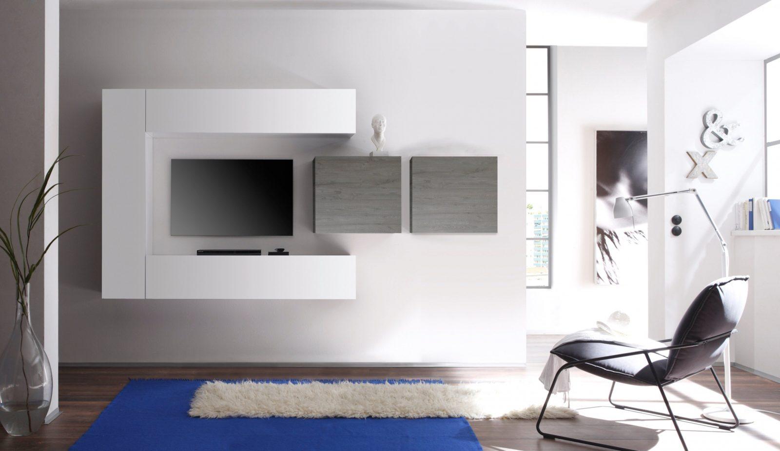 Hängeschrank Weiß Hochglanz Wohnzimmer von Hängeschrank Weiß Hochglanz Wohnzimmer Bild