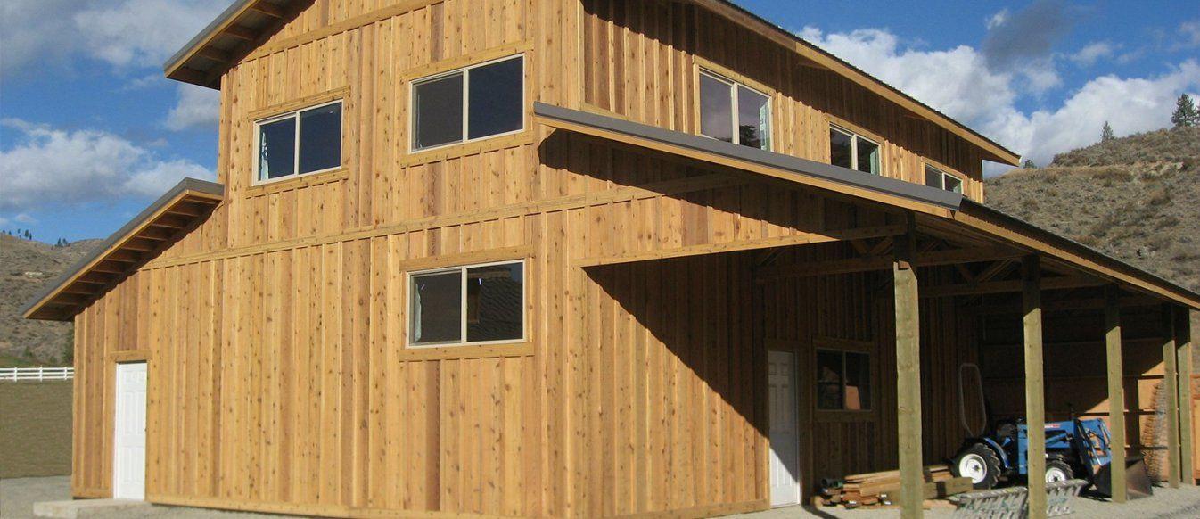 Hansen Pole Buildings  Affordable Pole Barn & Building Kits von Menards Pole Barns Reviews Bild