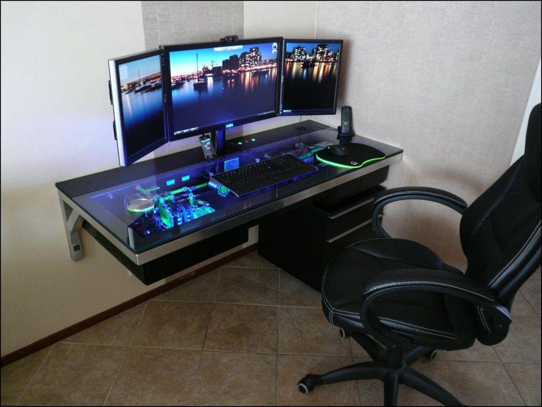 Hardware Im Tisch Einbauen Computerbase Forum Avec Pc Tisch Selber von Gaming Tisch Selber Bauen Photo