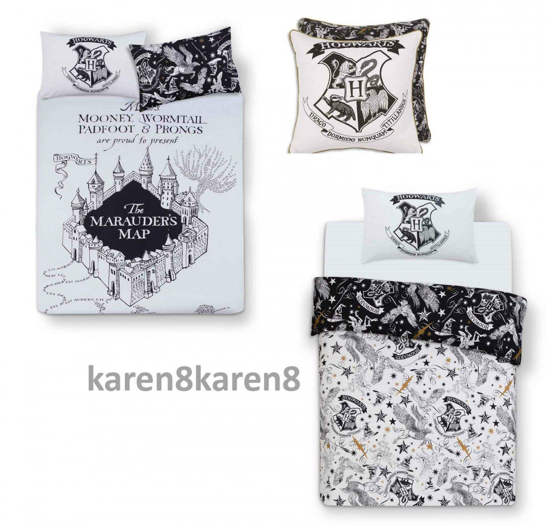 Harry Potter Hogwarts Duvet Reversible Bed Set Primark Single Double von Harry Potter Bettwäsche Primark Bild
