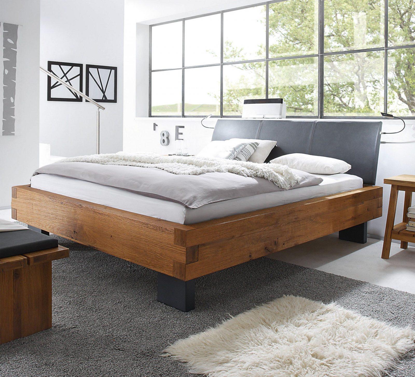 Hasena Oak Wild Bett Füße Quada Kopfteil Ripo 160X220  Schlaf von Bett 160 X 220 Bild