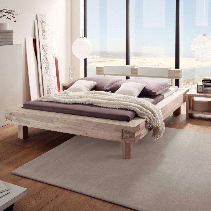Hasena Pescara Akazie Massivholz Bett 160×220 Cm 20 Cm Fe von Bett 160 X 220 Bild
