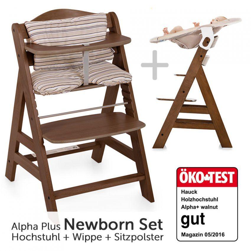 Hauck Hochstuhl Alpha Plus Holz  Newborn Set Inkl von Hauck Alpha Plus Test Photo