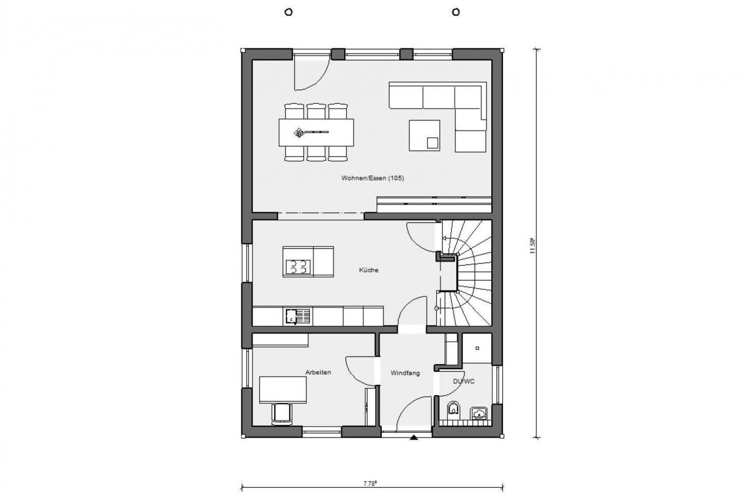 Haus Für Schmale Grundstücke  Schwörerhaus von Langes Schmales Haus Grundriss Photo