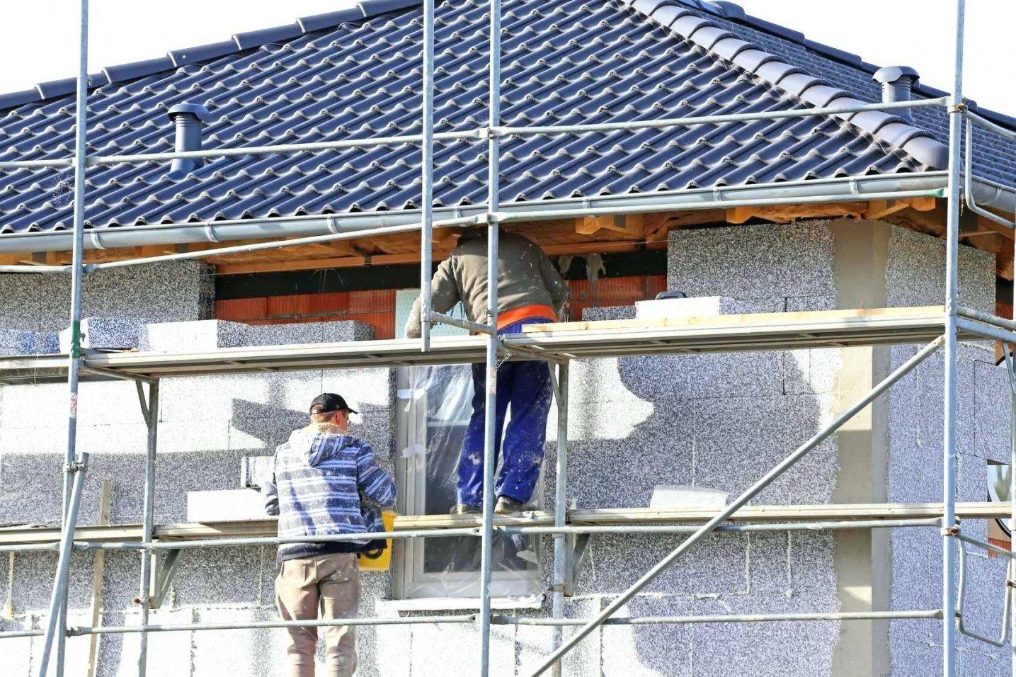 Haus Isolieren Stilvolle Kosten Dekoration Wande Verputzen von Wände Verputzen Kosten Pro Qm Bild