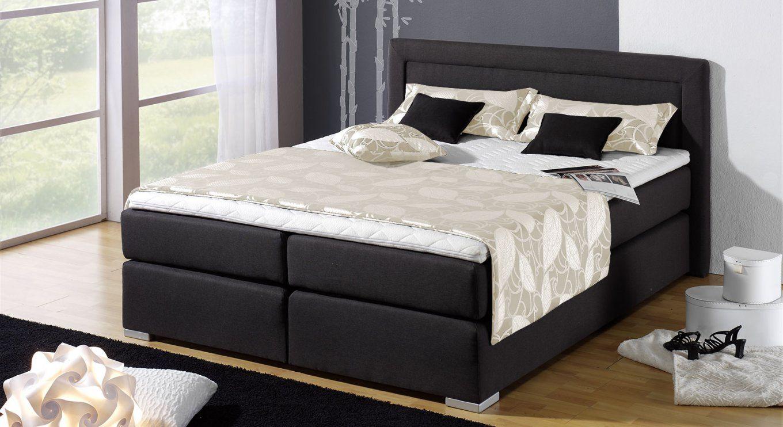 Haus Möbel Bett Für Übergewichtige Boxspringbett Houston Schwarz von Stabile Betten Für Übergewichtige Photo