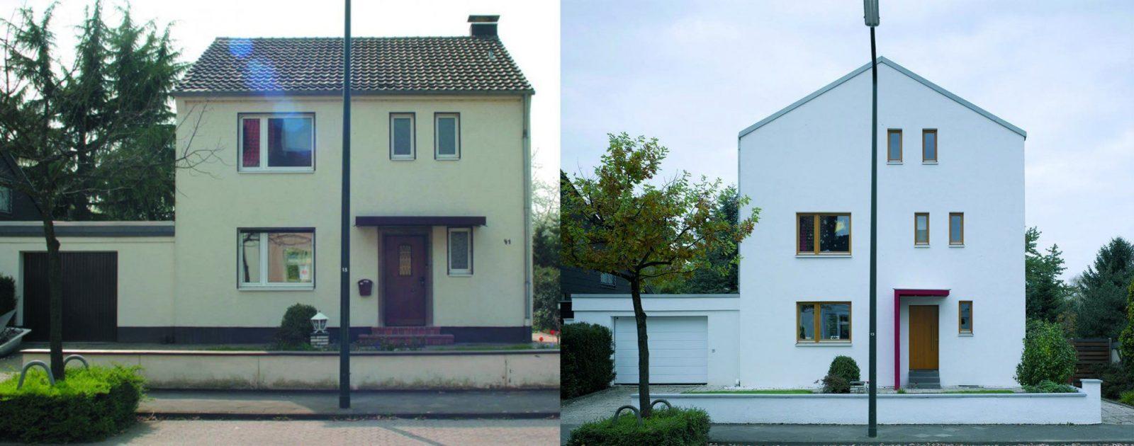 Haus Modernisieren Vorher Nachher Wohndesign Schler von Haus Aufstocken Vorher Nachher Bild