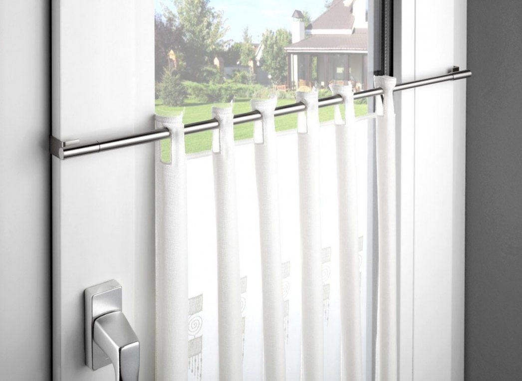 Hausdesign Gardinen Aufhängen Ohne Stange Vorhang Bohren 1Ehrlich von Gardinenbefestigung Am Fenster Ohne Bohren Photo