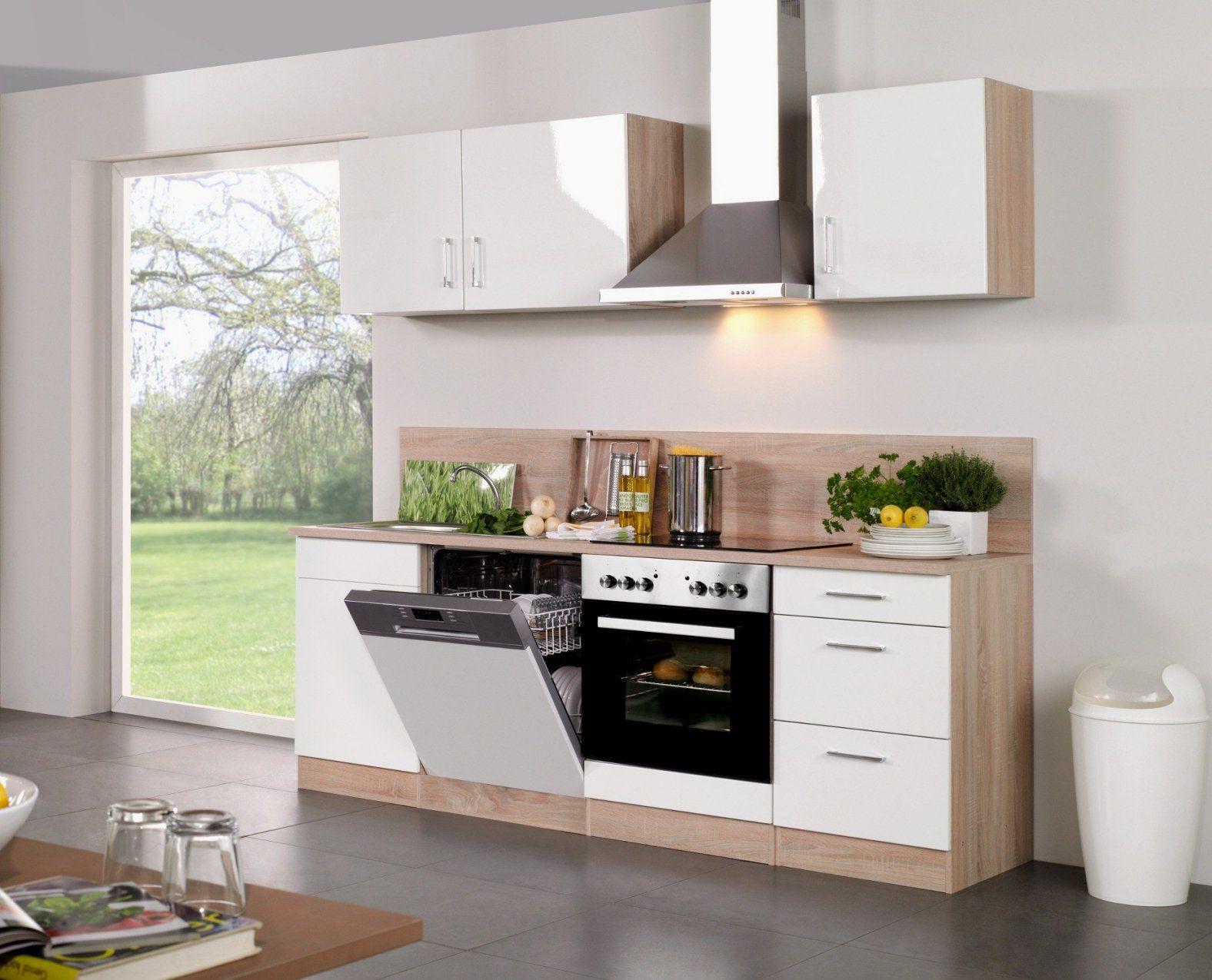 Hausdesign Küchenzeile 240 Cm Mit Kühlschrank Kuchenzeile 220 von Küchenzeile 240 Cm Mit Kühlschrank Photo