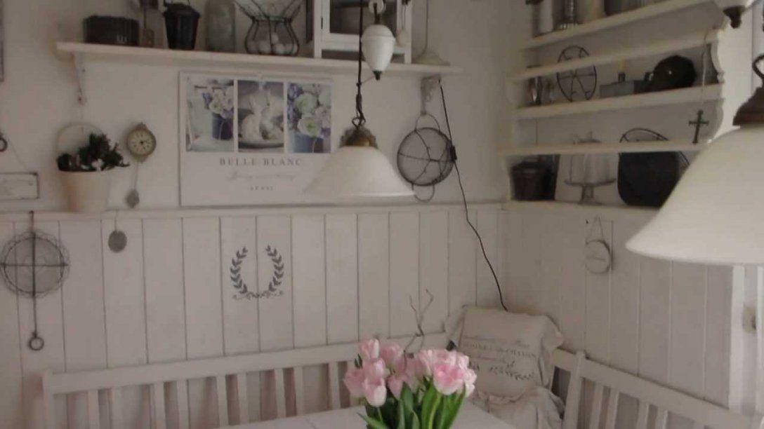 Heidi S Home Shabby Vintage Weiße Sitzecke In Der Küche Mit Avec von Shabby Küche Selber Machen Bild