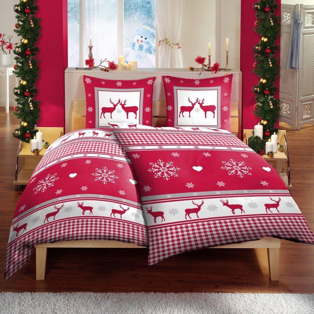 Heimtexprofis  Teddyplüsch Mikrofaser Winter Bettwäsche 135X200 4 von Weihnachts Bettwäsche 155X220 Bild