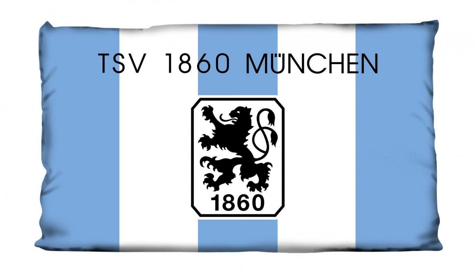 Heimtexprofis  Tsv 1860 München Kissen Nicki Fanartikel Lizenz von Nicki Bettwäsche 155X220 Bild
