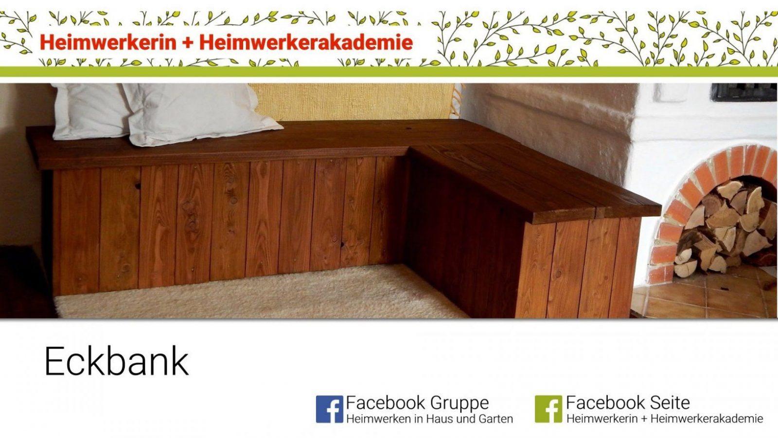 Heimwerkerin Baut Eine Eckbank  Youtube von Eckbank Mit Stauraum Selber Bauen Photo