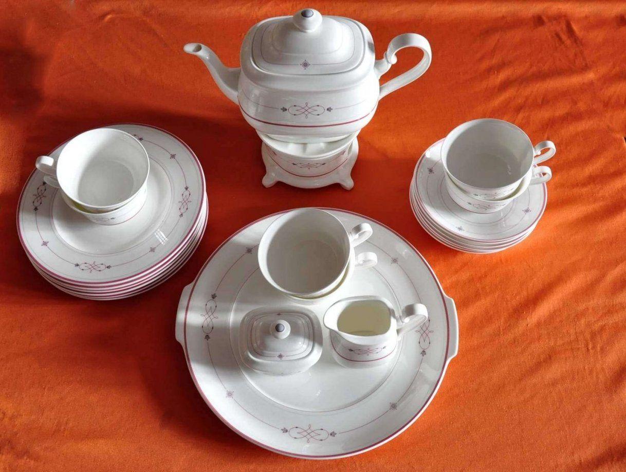 Heinrich Villeroy & Boch Aragon Teeservice Mit Stövchen  Kusera von Bone China Porzellan Villeroy Boch Photo
