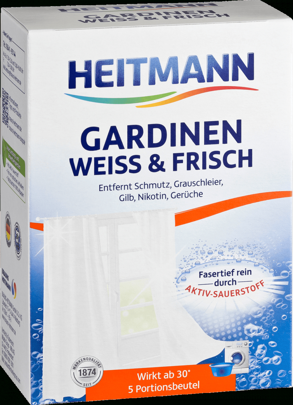 Heitmann Gardinen Weiss & Frisch Dauerhaft Günstig Online Kaufen  Dm von Gardinen Waschen Weichspüler Bild