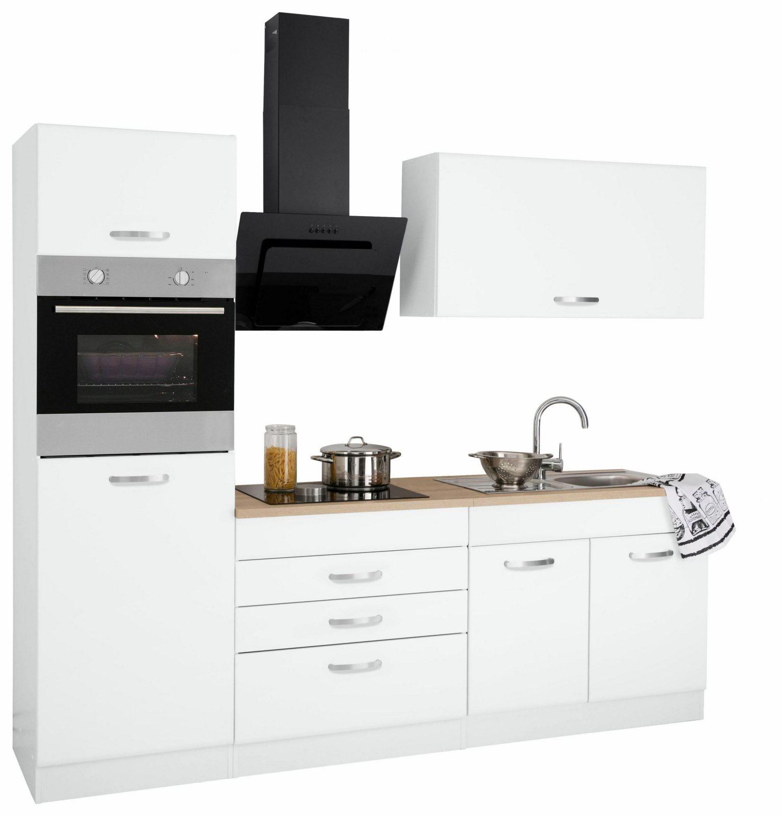 Held Möbel Küchenzeile Mit Egeräten York Breite 240 Cm Bestellen von Küchenzeile 240 Cm Mit Kühlschrank Photo