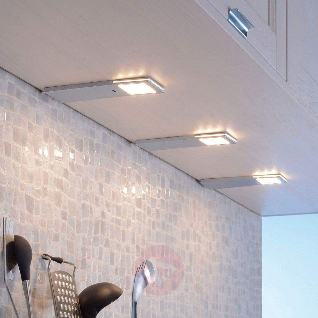 Helena  Ledunterbauleuchte Im 3Er Set Sensor  Lampenweltat von Led Küchen Unterbauleuchte Mit Sensor Photo