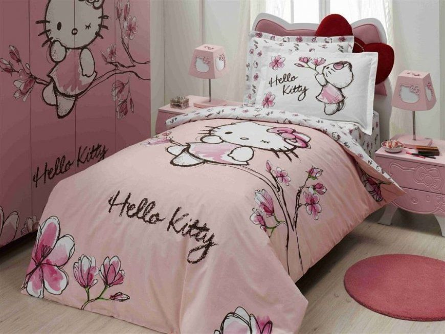 Hello Kitty Bed Shape  Best Home Wood Flooring Ideas von Hello Kitty Bettwäsche Aldi Photo