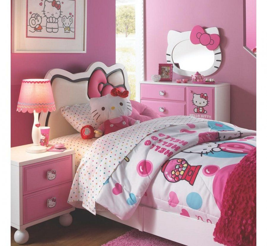 Hello Kitty Bedroom Decor New Tips To Create The Most Unique And von Hello Kitty Bed Frame Photo