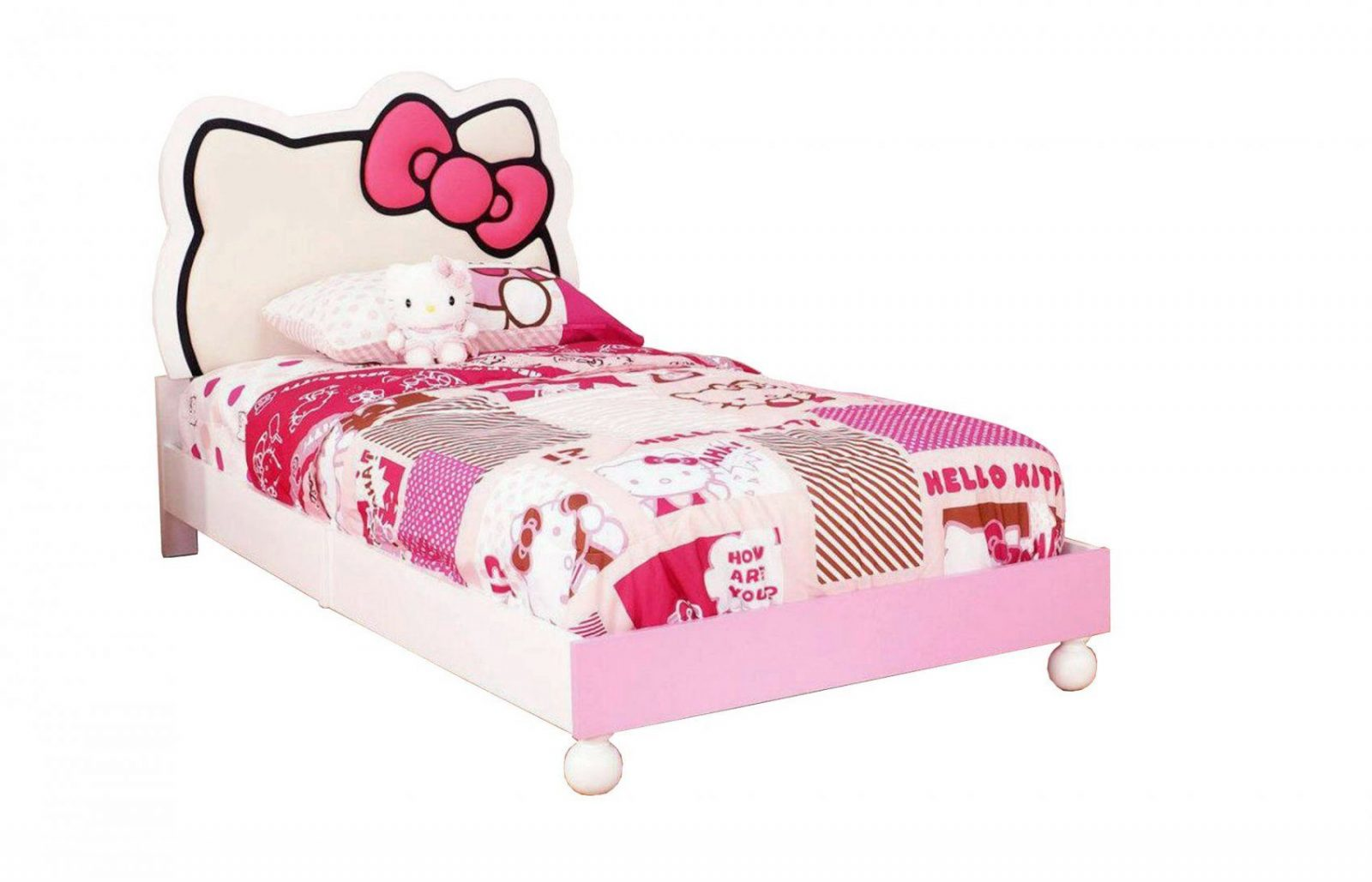 Hello Kitty Bedroom Furniture Rooms To Go Hello Kitty Canopy Top von Hello Kitty Bed Frame Bild