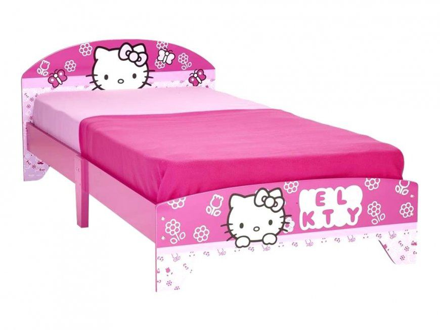 Hello Kitty Bett Dreams4Home Kinderbett Hochbett Spielbett Bett von Hello Kitty Bett 90X200 Bild