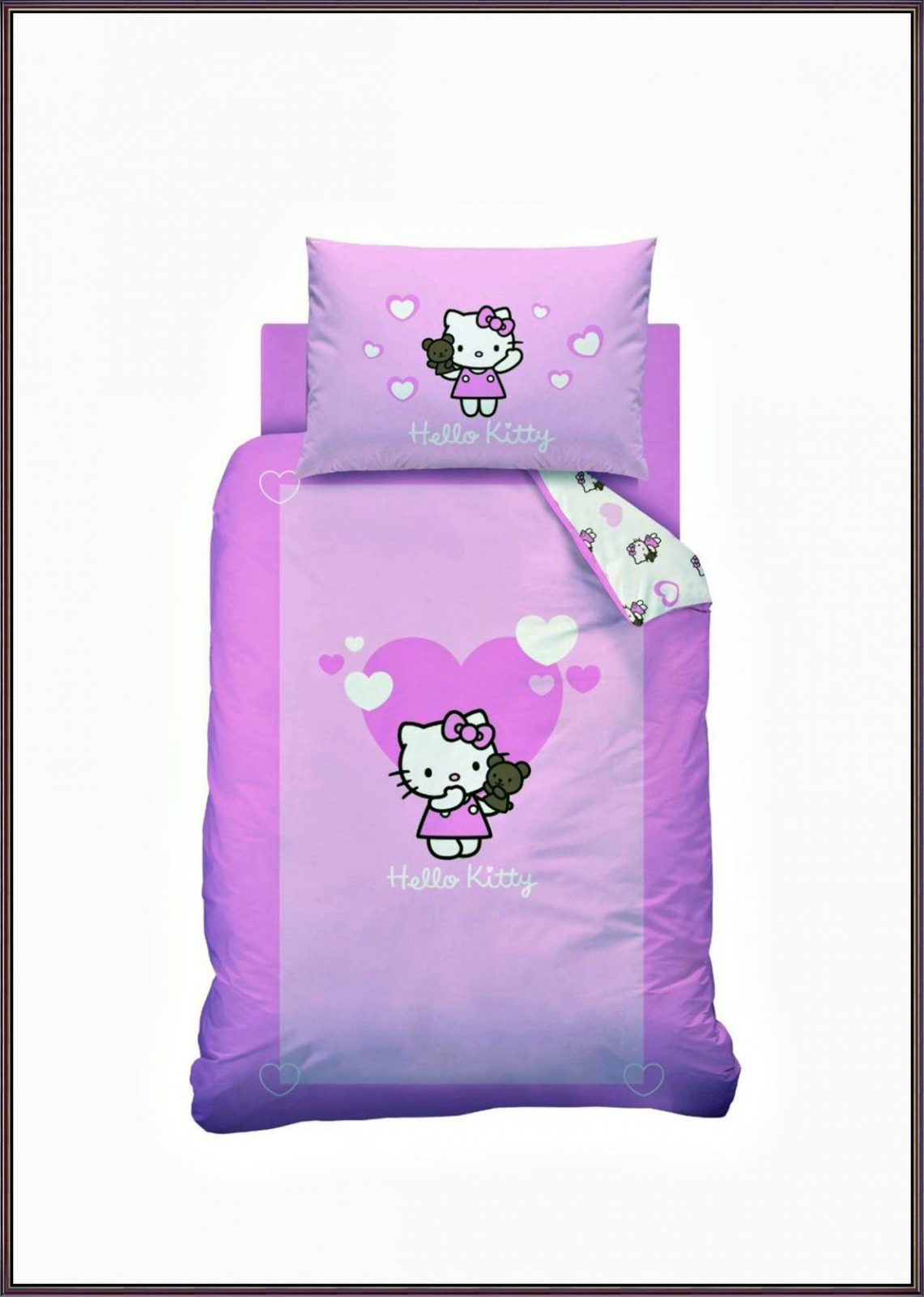 Hello Kitty Bettwäsche 100X135  Möbelreferenz von Hello Kitty Bettwäsche Aldi Photo