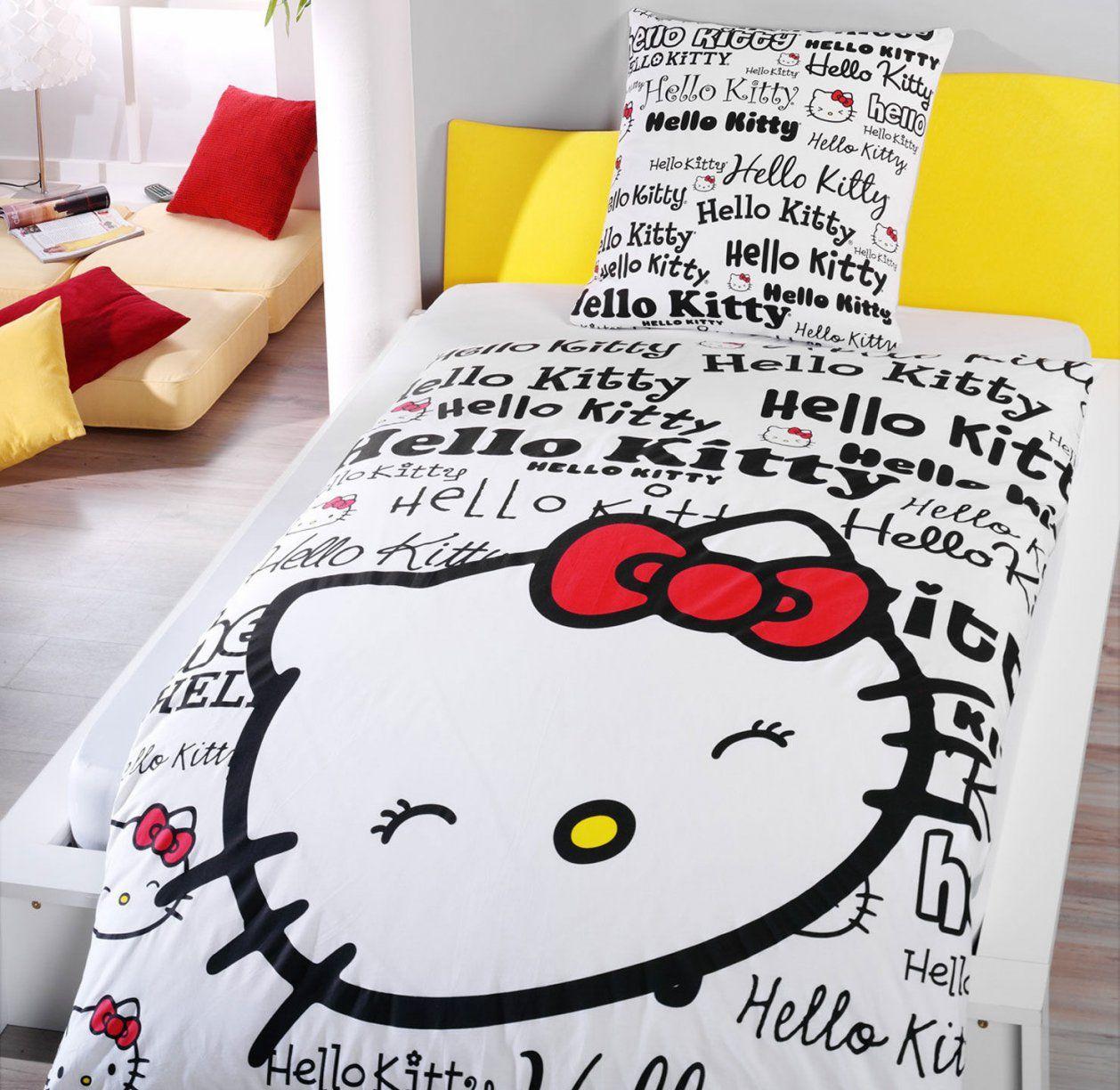 Hello Kitty Bettwäsche Schwarz von Hello Kitty Bettwäsche Aldi Photo