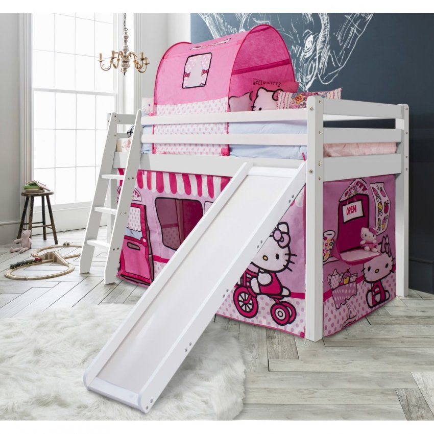 Hello Kitty Cabin Bed With Slide & Tent  Noa & Nani von Hello Kitty Bed Frame Photo