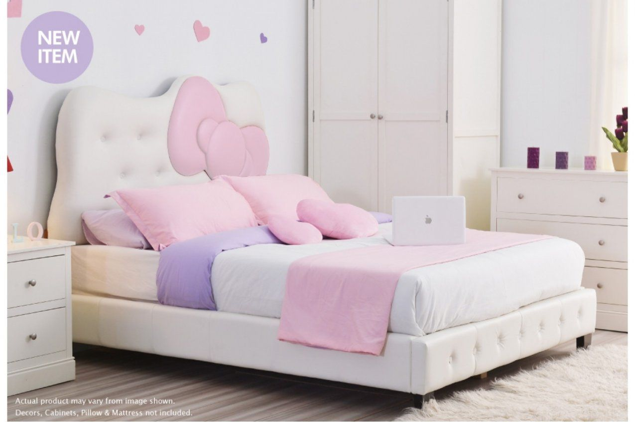 Hello Kitty Headboard Queen  Nisartmacka von Hello Kitty Bed Frame Bild