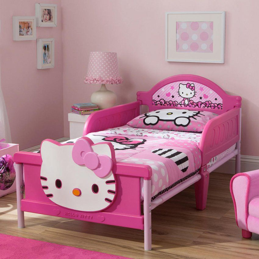 Hello Kitty Toddler Girl Beds — Eflyg Beds  Homemade Toddler Girl von Hello Kitty Bed Frame Photo