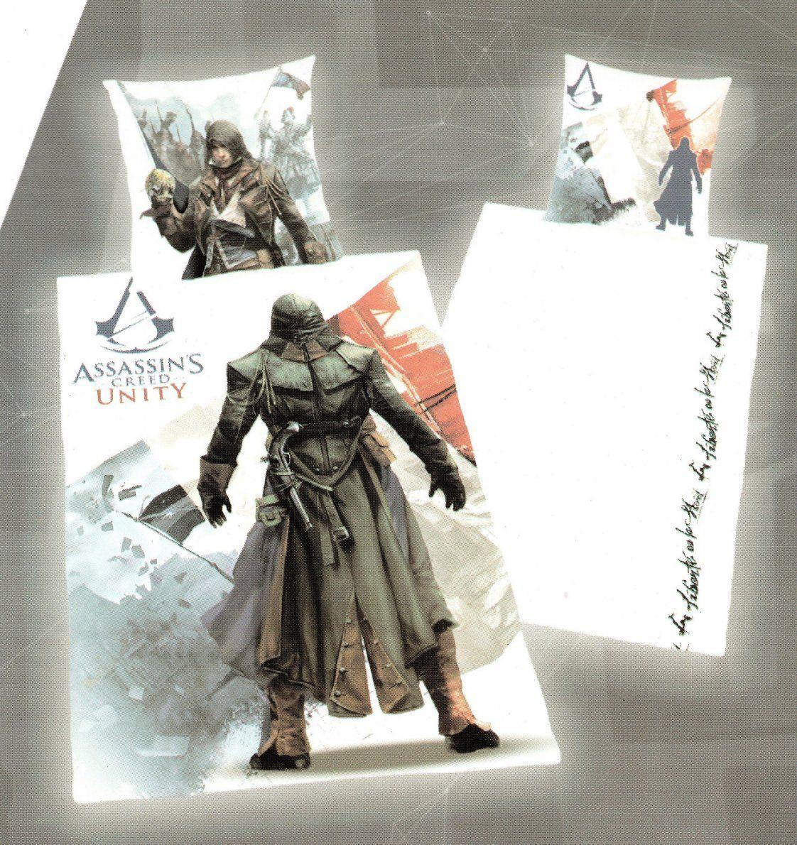Herding Bettwäsche Assassins Creed  Assassine  135X 200Cm + 80X von Assassins Creed Bettwäsche Photo