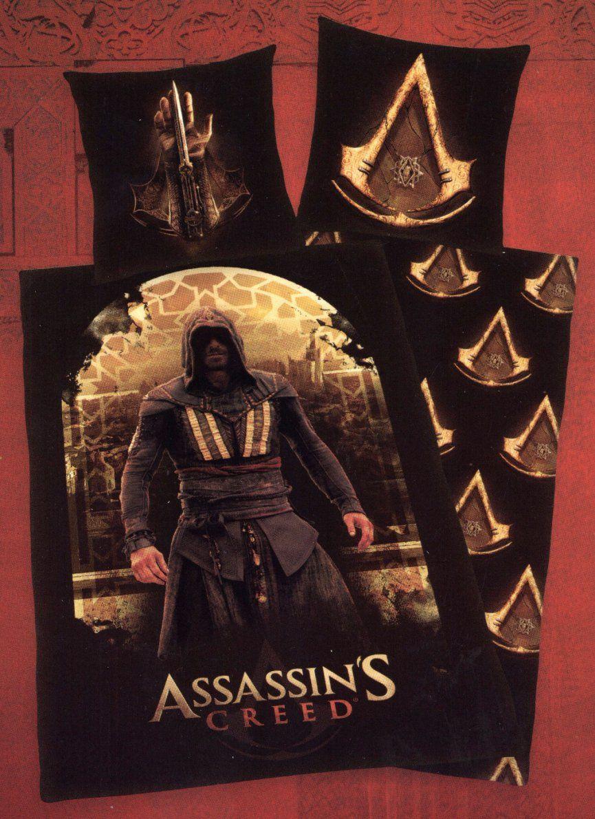Herding Bettwäsche Assassins Creed Syndicate  135X 200Cm + 80X 80Cm von Assassins Creed Bettwäsche Bild